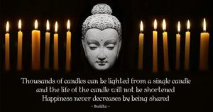 Buddha Candle Quotes