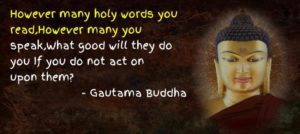 Inspirational Quotes by Gautam Buddha