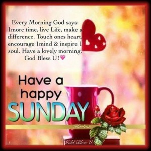 A Sunday Wish Quotes Images