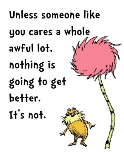 Dr. Seuss Quotes Care A Whole Lot