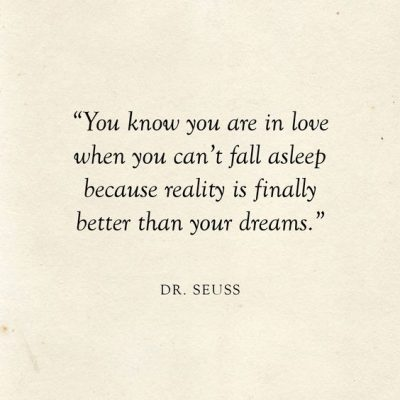 Dr. Seuss Quotes Love