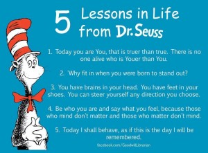 Dr.Seuss Life Lessons Quotes Images
