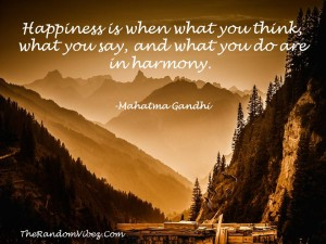 Famous Mahatma Gandhi Quotes on Happiness
