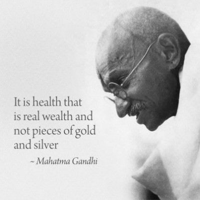 Gandhi Quotes on Health