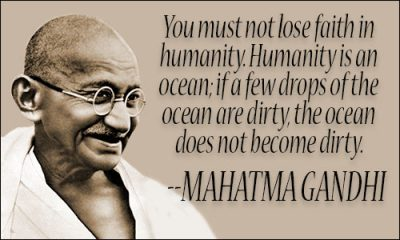 Humanity Quotes By Gandhi Ji