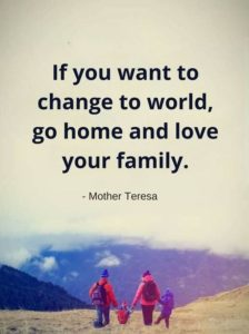 Mother Teresa Quotes on Family