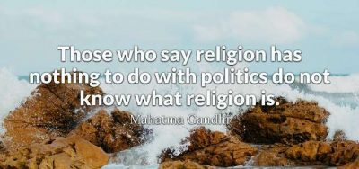 Quotes About Religion And Politics