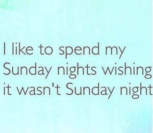 Sunday Night Quotes images