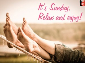 Sunday Quotes on Relaxing ENjoy Images