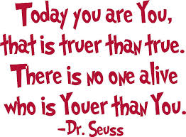 Dr seuss you are you quote images