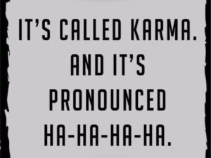 Funny Karma Quote