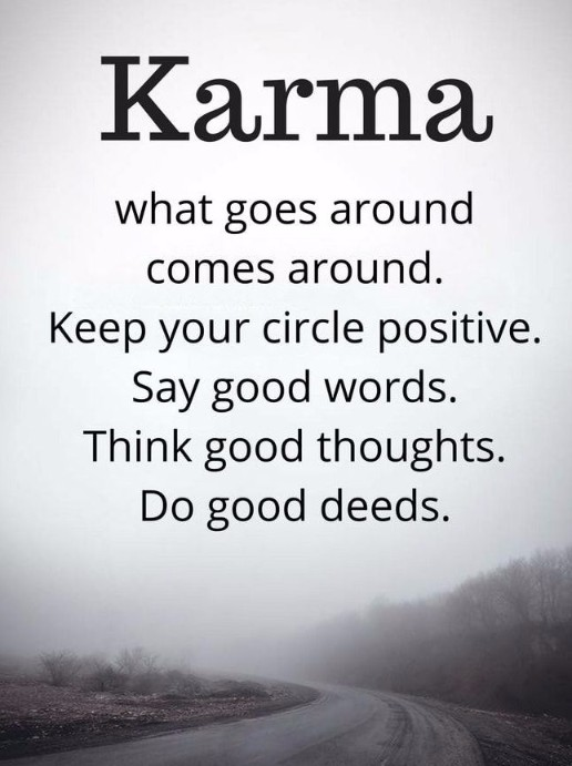 100+ Good and Bad Karma Quotes and Sayings with Images
