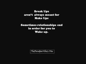 Deep Relationship Break Up Quotes