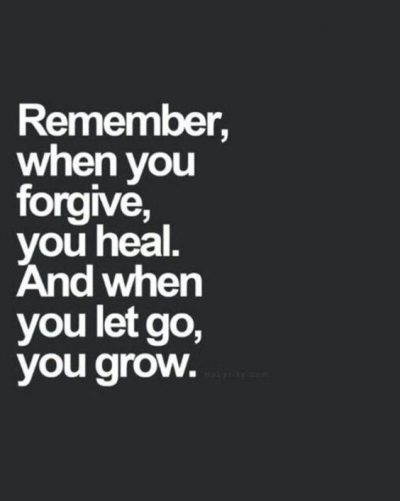 Healing Power Of Forgiveness Quotes