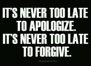 best apology and forgiveness quotes images