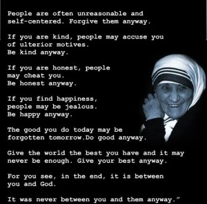 mother teresa quotes about forgiveness images