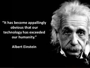 Albert Einstein Technology Quotes