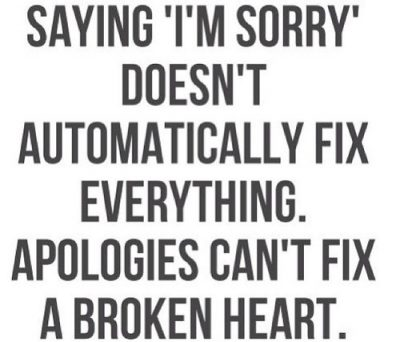 Apologize Quotes For Lovers