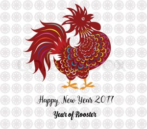 Chinese New Year 2017 Year of Rooster Images HD