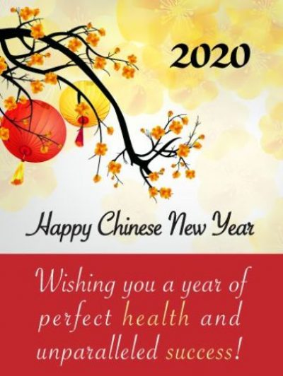 Chinese New Year Warm Wishes