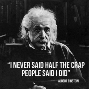 Funny Albert Einstein Quotes