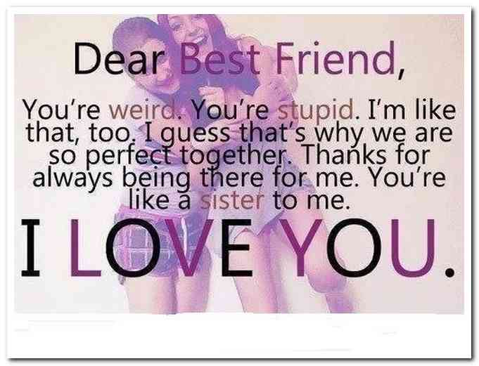 Happy Birthday Quotes Best Friend Cutest Sister Images