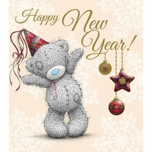 Happy New Year Bear Card Images Pics