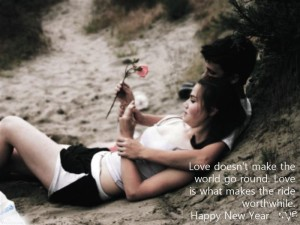 Happy New Year Love WIshes for Boyfriend Images HD
