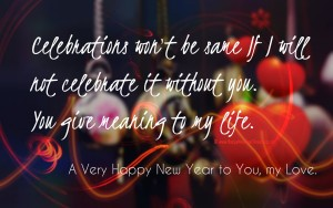 Happy new year messages for love images