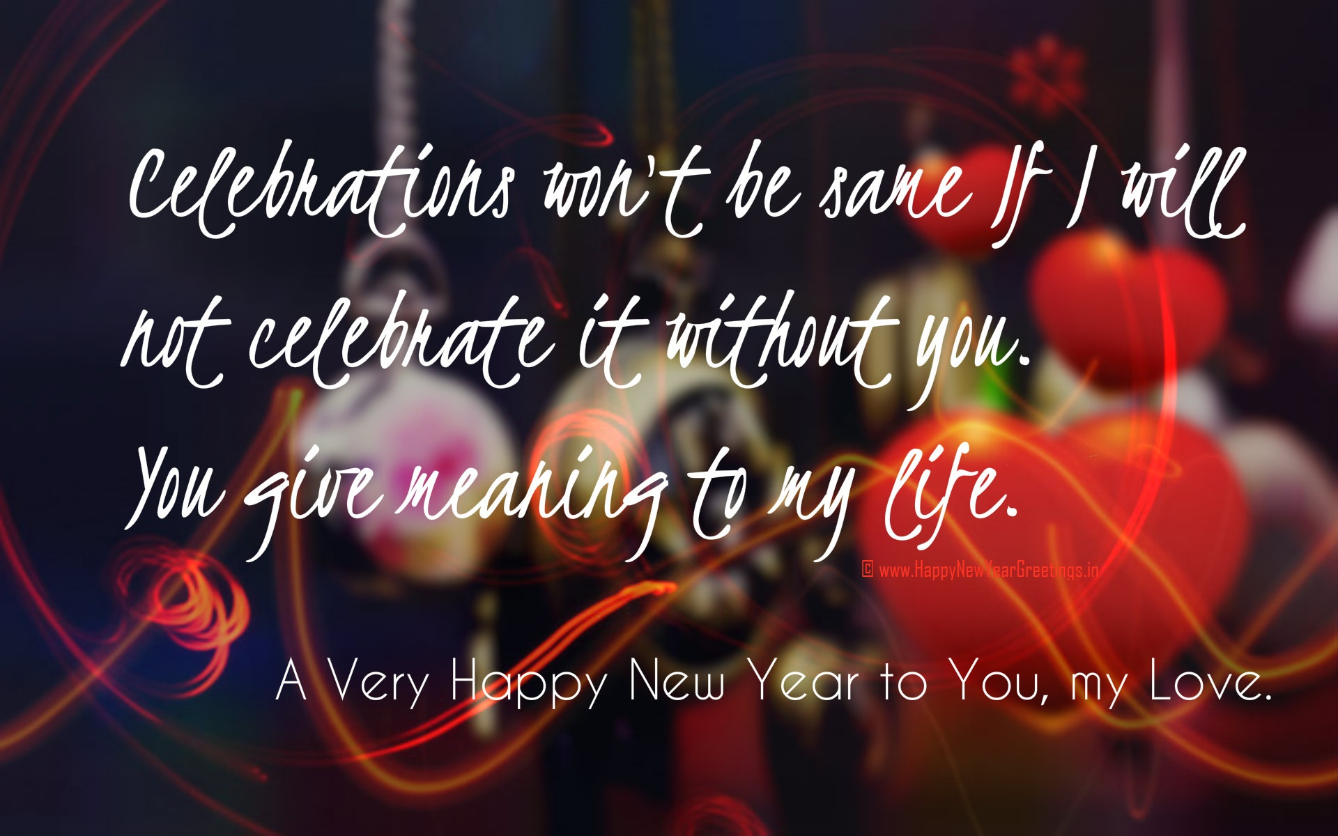 happy new year babe happy new year messages for love images