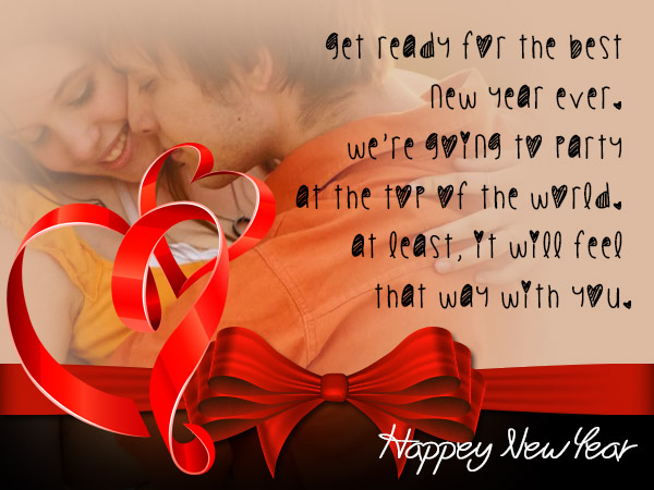 best happy new year wishes for the love of your life