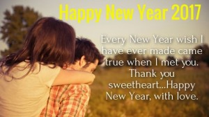 New Year Wishes for Lover Picture Quotes