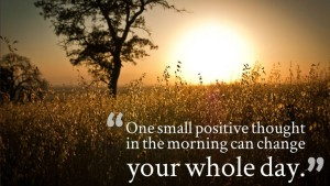 Sweet Positive Thoughts for a Good Morning Images hd