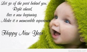 Cute Baby New year cards images