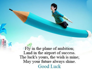 airplane good luck quotes sayings images