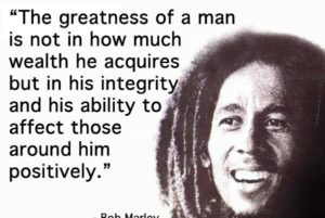 Bob Marley positive quotes