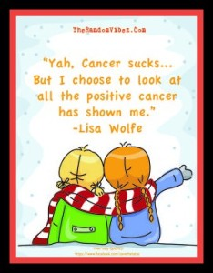 Cute Cancer quotes for friend Images