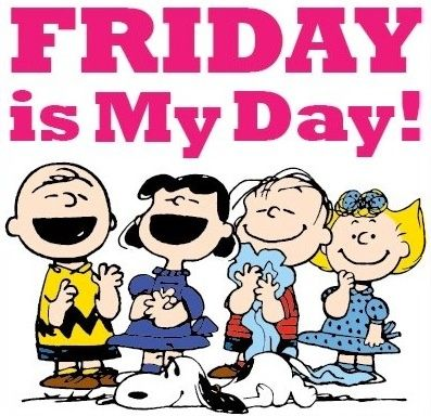 Cartoon Peanuts Funnt TGIF Quotes Images