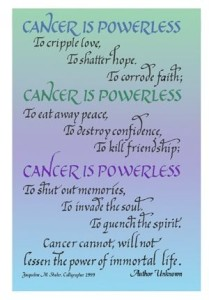 Encouraging quotes for cancer patients images