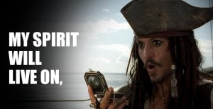 Pirates High Spirits Quotes by Johnny Depp HD Images