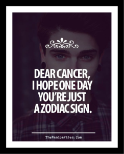 I hate cancer quotes images