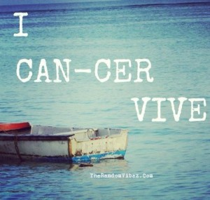 Inspirational Quotes about Beating Cancer Images