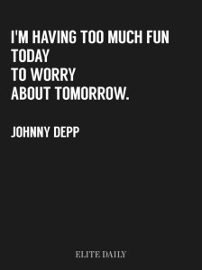 Nice Johnny Depp Fun Quotes Images