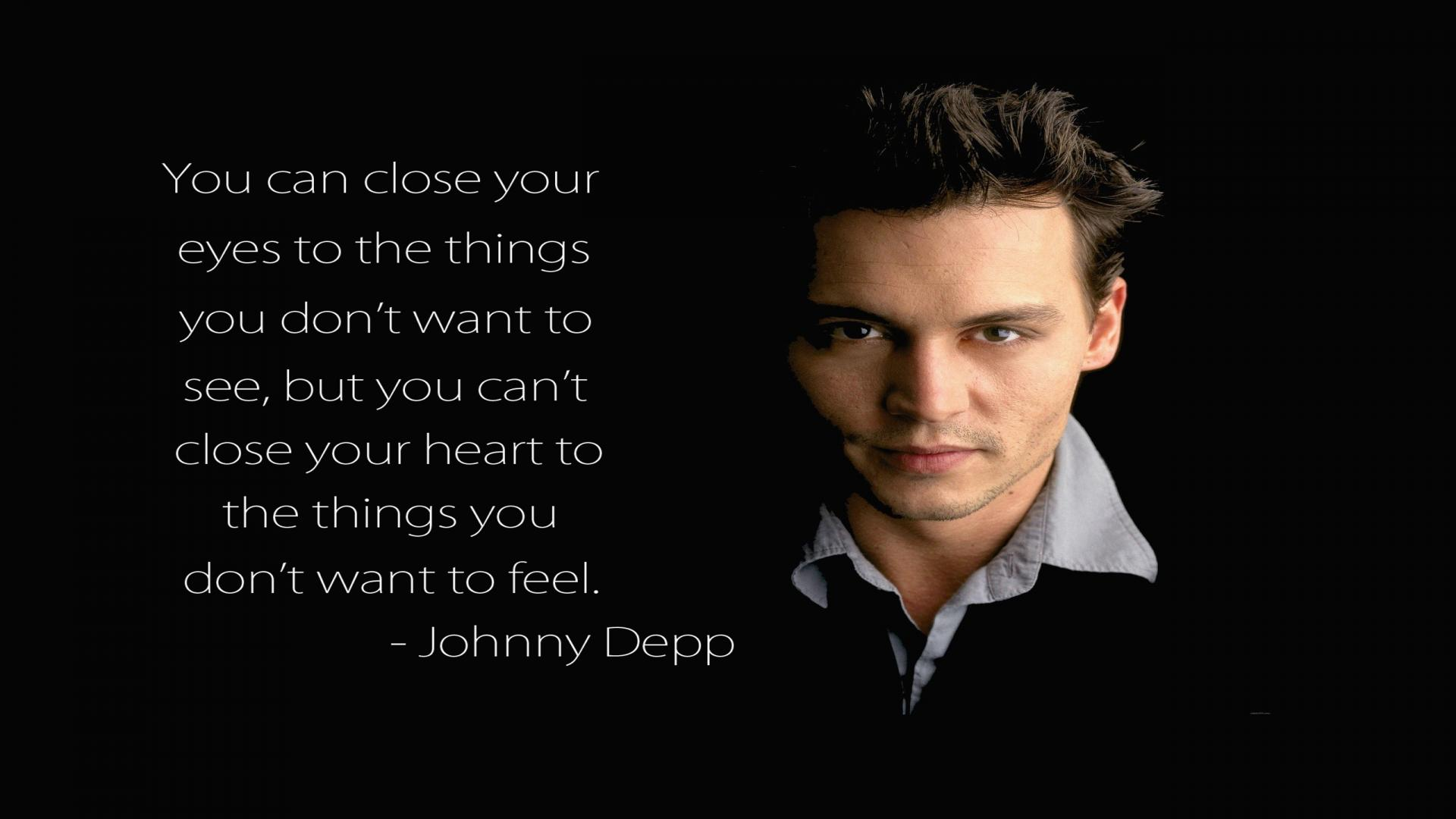 55 Inspirational Johnny Depp Quotes & Sayings On Love And Life