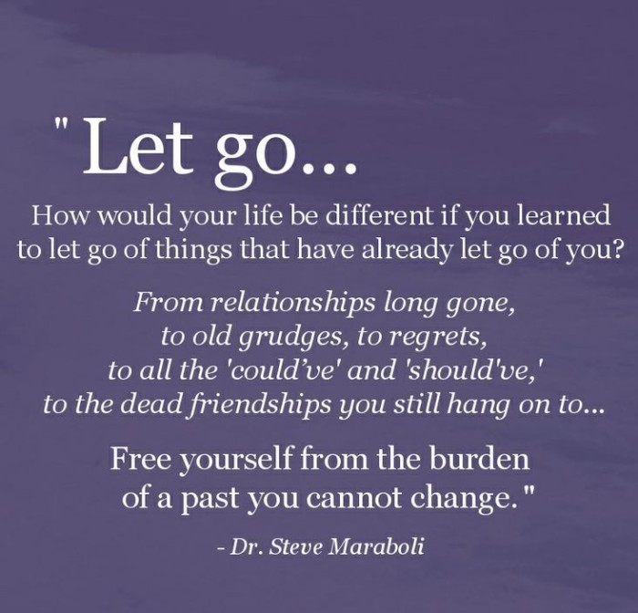 You need to let it go quotes