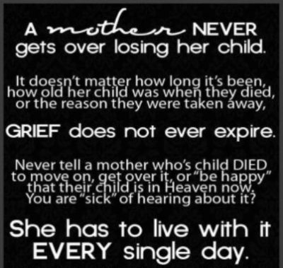Mothers Heartbreak Quotes