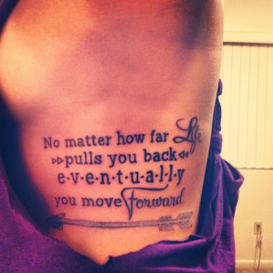 Moving Forward Quotes tattoos images hd