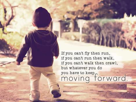 Moving Forward Quotes Images