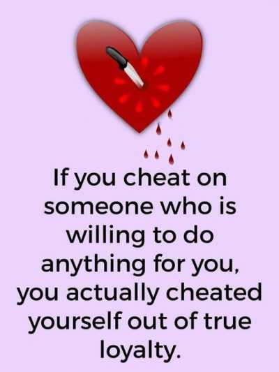 Quotes About Being Cheated