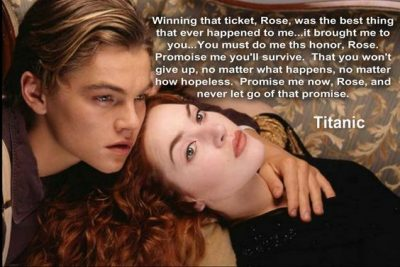 Sad Quotes From Movie Titanic